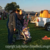 At the Colorado Balloon Classic, the first rays of the sun illuminate some things in this photo.