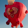 When Pigs Fly hot air balloon at the Colorado Balloon Classic