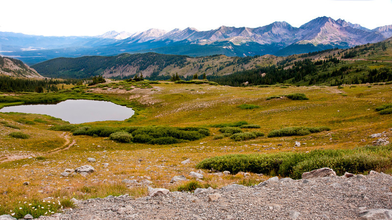 Continentel Divide on Cottonwood Pass