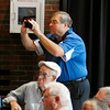 John P. Cleary | The Herald Bulletin<br /> Breakfast with the Indianapolis Colts featuring head coach Chuck Pagano was held Friday morning at Reardon Auditorium.