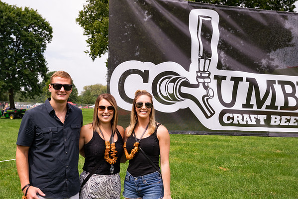 August 27th, 2016 The first ever Craft Beerfest at Mill Race Park in Columbus, Indiana.