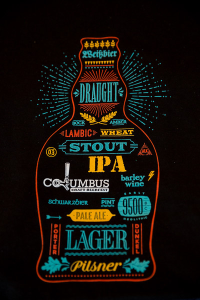 September 30, 2017 Columbus Craft Beerfest at Mill Race Park in Columbus, IN.