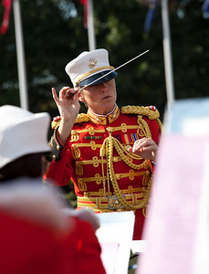 Captain Michelle A. Rakers, first woman Assistant Director of the Marine Band
