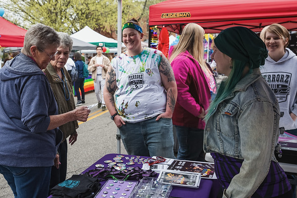 Columbus Indiana 2nd Annual Pride Festival on April 13, 2019. Photo by Tony Vasquez