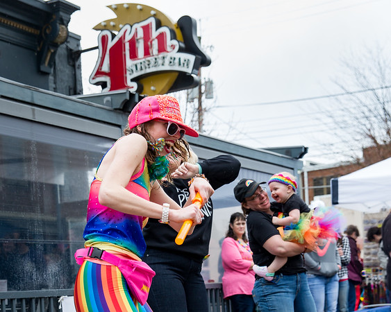 April 14, 2018 Columbus Pride Festival on 4th Street in downtown Columbus, Indiana. Photo by Tony Vasquez.