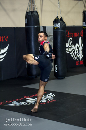 Hansel Aquino  Training Xtreme Couture