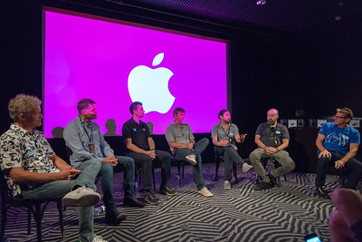 2018_06_29, Amsterdam, Apple, Brian Rothschild, Christian Sonhel, Come Together Amsterdam, Dave Clarke, Fons van den Berg, Larry O'Connor, Melkweg, Names, NL, Pietro Rossi, Thomas Lund