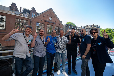 2018_06_29, Amsterdam, Brian Rothschild, Come Together Amsterdam, Dave Clarke, Fons van den Berg, Larry O'Connor, Matt Reich, Melkweg, NL, Peace Deck, Pietro Rossi, Thomas Lund