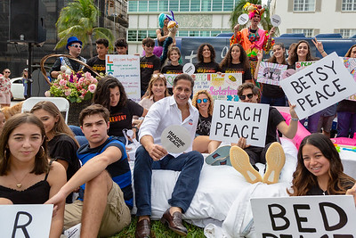 2018_11_03, Alberto Carvalho, Beach, Beach Bed In, Bed In, Bed In on the Beach, Come Together, Come Together Miami, FL, Florida, Jaime Walden, Matt Reich, Miami, Miami Beach, Names, The Betsy, The Betsy Hotel