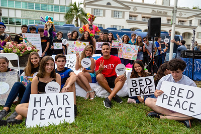 2018_11_03, Beach, Beach Bed In, Bed In, Bed In on the Beach, Come Together, Come Together Miami, FL, Florida, Miami, Miami Beach, The Betsy, The Betsy Hotel, Michelle Sussett, Andy Cabrera, Bus, Exterior