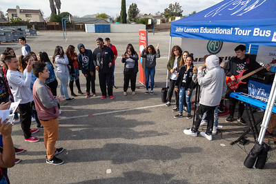 2019_02_01, CA, Pomona, Pomona High School, Tents, Neutrik