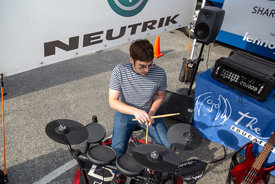 2019_02_01, CA, Pomona, Pomona High School, Tents, Neutrik, Yamaha