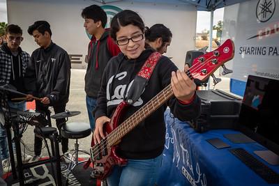 2019_02_01, CA, Pomona, Pomona High School, Yamaha, Tents