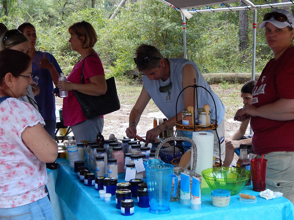 'Come to the River Healing Arts Festival' held Saturday, Sept. 7 at Stephen Foster Folk Culture Center State Park in White Springs. Visitors engaged with vendors to experience and enjoy, as they learned the art of natural healing.