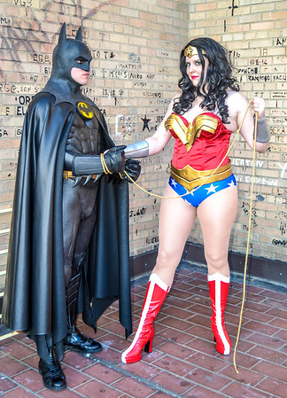 Comic Book Characters for Causes Promo Calendar Shoot