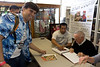 It was over so quick.  By the time I had handed my camera over, Stan Lee was onto the next item!