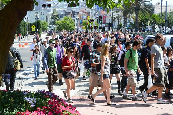Comic Con 2011 Saturday