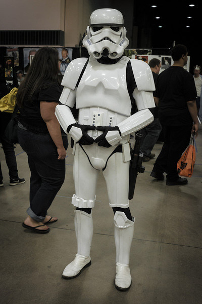 Stormtrooper costume, Star Wars Cosplay, Wizard World Minneapolis Comic Con 2014
