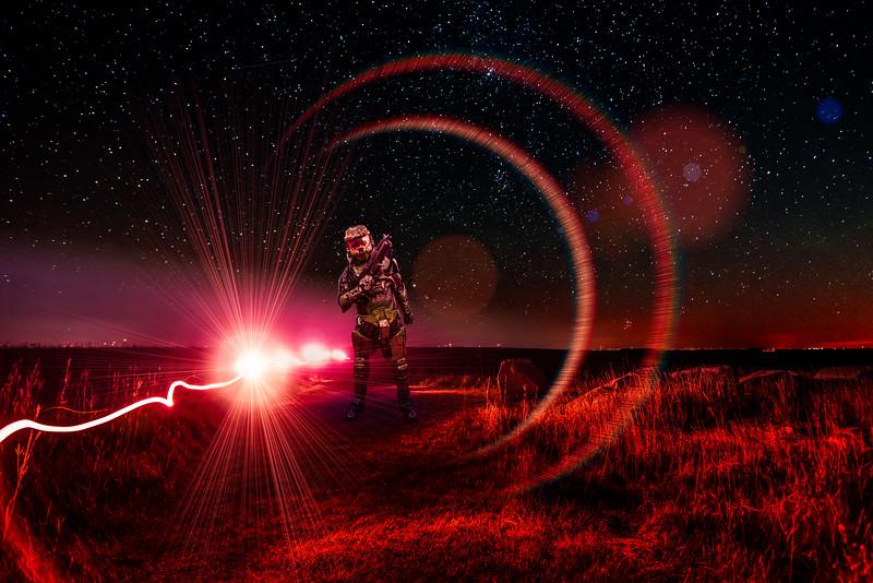 Master Chief on Mars