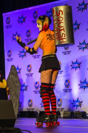 Wizard World Comic Con Minneapolis 2015, Harley Quinn Cosplay, Harley Quinn Costume, Girls of Comic Con, Sexy Cosplay, Sexy Costume