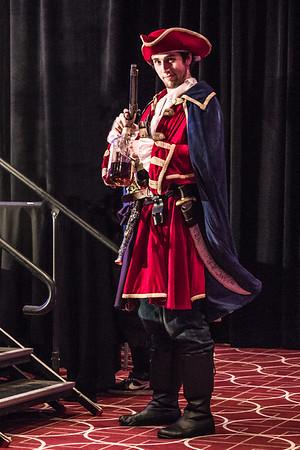 Wizard World Comic Con Minneapolis 2015, Captain Morgan Costume at Comic Con