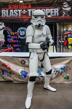 Wizard World Comic Con Minneapolis 2015, Stormtrooper Costume, Blast a Trooper, Star Wars Cosplay