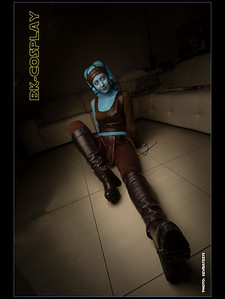 Aayla lounging