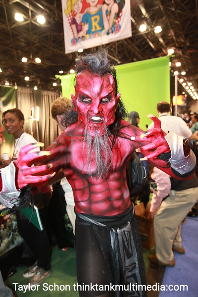 """Deadlaus""<br /> <br /> ""The costume is working fantastic with the ladies, a real crowd pleaser.""<br /> <br /> [Scared] We bet. How long will it take to wipe that off?<br /> <br /> ""This will probably be my look for the next month.""<br /> <br /> Result: Will definitely attract those chicas with a death wish, goths, punks, et al. Is that really what you want? Okay then… 8/10 for evil girls..."