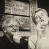 Pete & Claire smoking sepia_2011