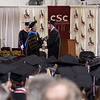 Chadron State College 2012 undergraduate commencement ceremony. (Photo by Daniel Binkard/Chadron State College)