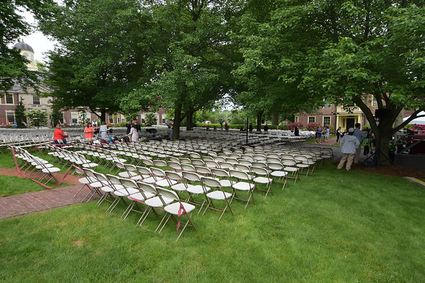 Seating arrangement for Commencement 2017