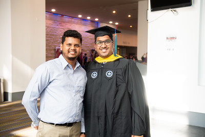 Shubharaj Arsekar (left) and Sai Varun Polishetty.