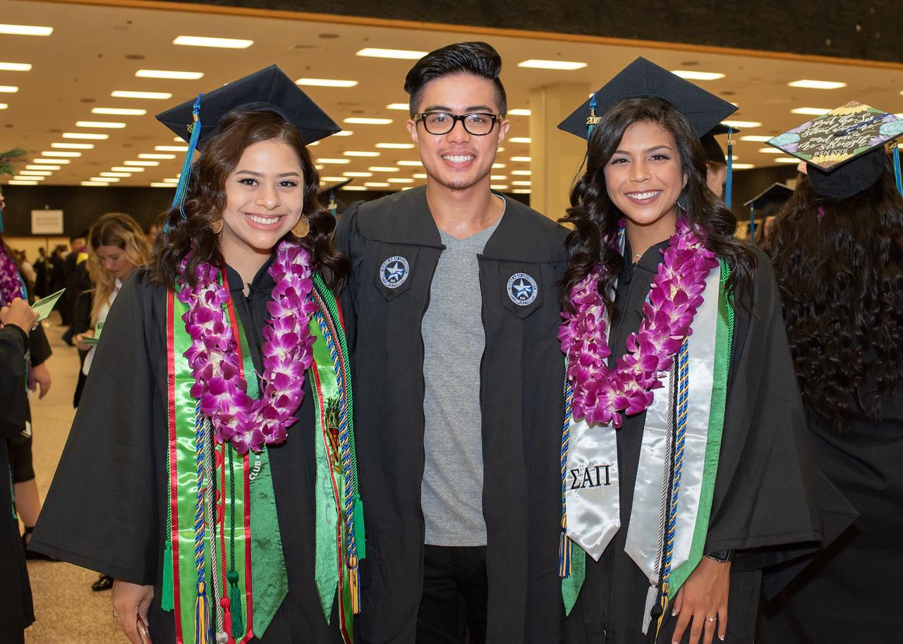 Haley Martinez (left), Jeno Bautista, Jordan Reyes