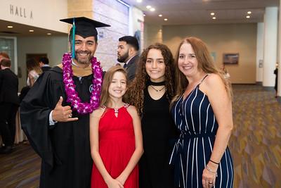 TAMU-CC graduate Ramiro Carrizales and family pose for a photo.