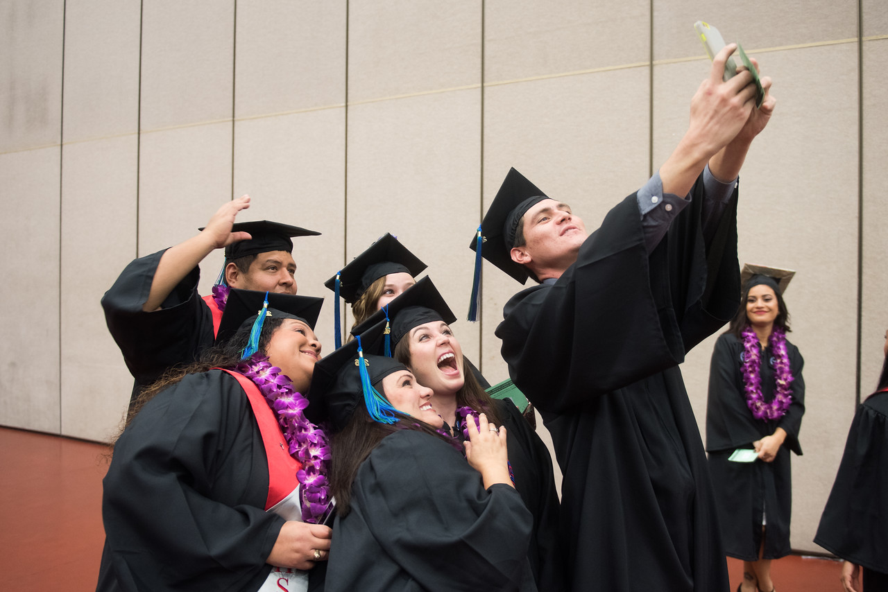 More than 871 Texas A&M University-Corpus Christi students walked the stage during two commencement ceremonies held Saturday, Dec. 17, 2016 at the American Bank Center. The commencement spea ...