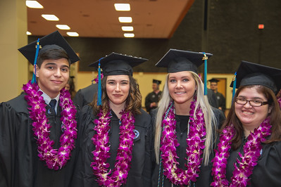 More than 871 Texas A&M University-Corpus Christi students walked the stage during two commencement ceremonies held Saturday, Dec. 17, 2016 at the American Bank Center. The commencement speaker was Ben Masters, film maker, Horse Trainer, Writer and Conservationist.
