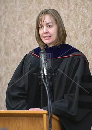 MSOL and MBA Hooding Ceremony- Dec. Graduation 12/8/16