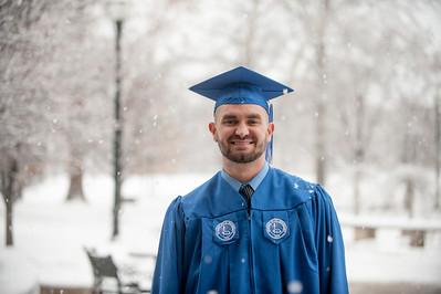 Graduate snowfall