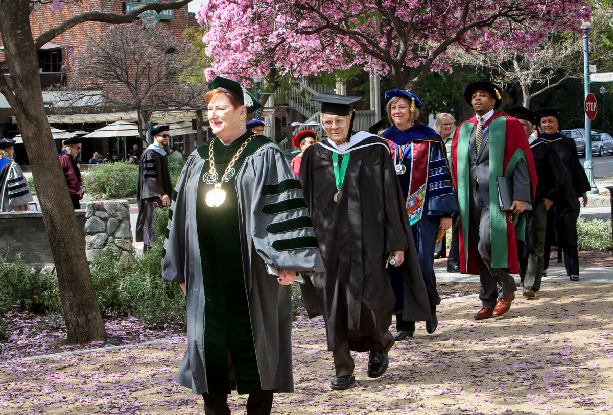 Claremont Lincoln University Commencement, March 27, 2017   Nancy Newman Photography NancyNB@earthlink.net