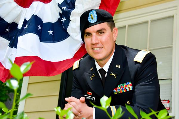 Commissioning of 2nd Lieutenant Chris Lacroix