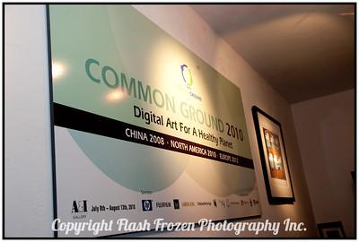 Common Ground 2010 - Opening Night Exhibit