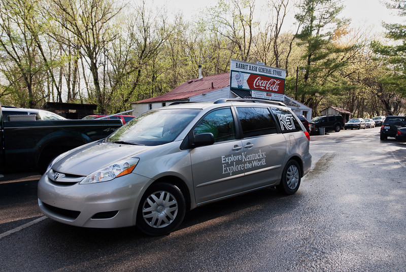 KET films Commonwealth Cleanup in Rabbit Hash, KY