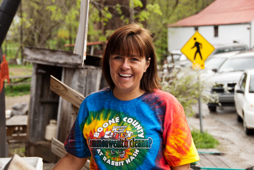 Kelly Chapman of the Division of Solid Waste Management, Boone County