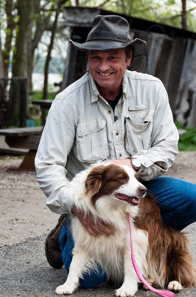 """Dave Shuffett of Kentucky Life """"Dave Does It"""" show with Lucy Lou, Mayor of Rabbit Hash"""