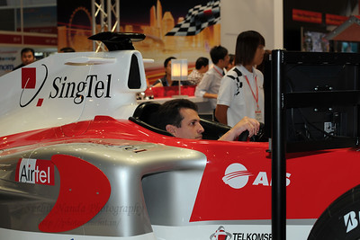 SingTel at CommunicAsia 2008 at Singapore Expo, Singapore