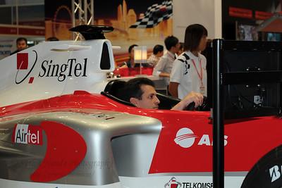 SingTel at CommunicAsia 2008 at Singapore Expo, Singapore