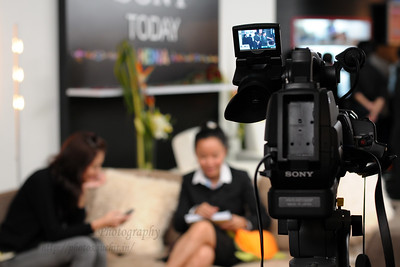 Sony Today at BroadcastAsia 2008 held at Singapore Expo, Singapore.
