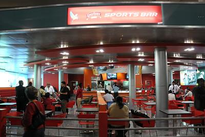 Kingfisher's Sports Bar at the Bengaluru International Airport (New Bangalore Airport) http://www.bengaluruairport.com
