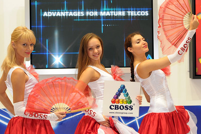 CBOSS performance at CommunicAsia 2008 and BroadcastAsia 2008 held at Singapore Expo, Singapore.