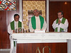 Fr. General celebrates mass with Fr. Andreas Suparman and Fr. Zezinho.